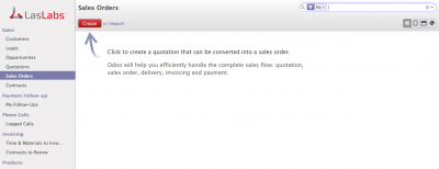 Sales Order Invoice Odoo