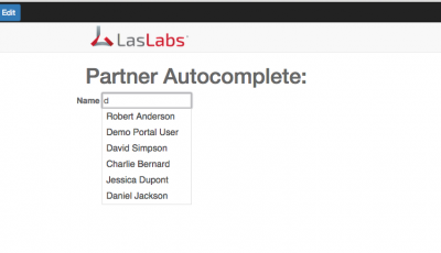 Website Autocomplete